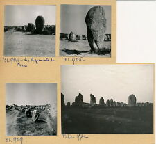 CARNAC c. 1960 -  8 Photos Morbihan Bretagne - BRE 93