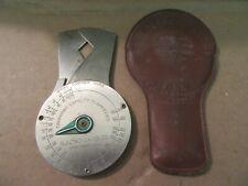 Electro-Gauge Company Wire Gauge Micrometer Tool Vintage