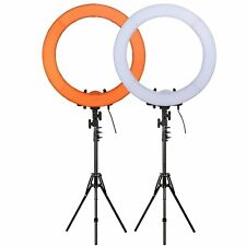 "Zomei 19""5500K Dimmable Diva LED Ring Light Diffuser MIRROR Stand Make Up Studio"