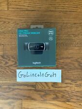 NEW Logitech C922 Pro Stream Webcam-Black W/ Tripod SHIPS NOW!