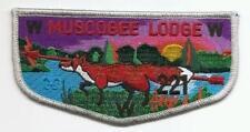 Beautiful Old Issue OA Lodge 221 Muscogee Flap - FOX Totem
