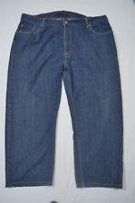 Levi's 46x 30 559 Relaxed Straight Leg Medium Wash Denim Jeans
