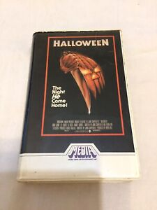 Halloween VHS Media Australian Version 1982 RARE White Stripe Hard to Find M131
