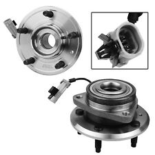 Pair of 2 Wheel Hub & Bearing Assembly Front for Chevy Pontiac Saturn with ABS
