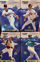 "🔥1997 Edition Baseball (4) Stars -Starting Lineup 12"" Figure Mint In Box"