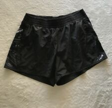 Tek Gear Running Shorts With Built In Liner, Size Small, Black