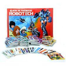 Robotech Complete Trading Cards Album Ultra Figus Macross Rick Hunter Argentina