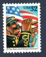 3153 The Stars & Stripes Forever US Single Stamp Mint/nh FREE SHIPPING