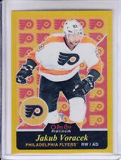 15/16 OPC Platinum Philadelphia Flyers Jakub Voracek Gold Rainbow #R24 Ltd #/149