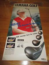1990 PAT BRADLEY Yamaha Golf EOS-RZ The Secret to Victory Poster