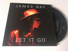 James Bay 3trk PROMO CD Let It Go CARD SLEEVE