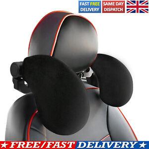 Car Seat Pillow Headrest Neck Rest Support Cushion Travel Soft Sleeping Sponge