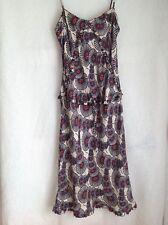 Women's dress Karen Miller size 10 EU36 silk