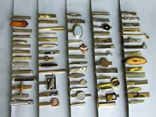Lot of 60+ Vintage Tie Clasps / Clips