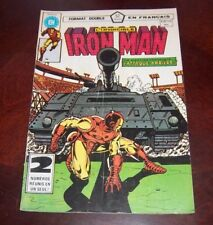 Editions Heritage Invincible Iron Man # 109/110 1983 French Edition Black White