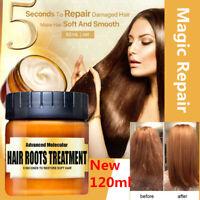120ml PURC Magical Hair Mask Repair Damage Restore Soft Keratin Hair Treatment D