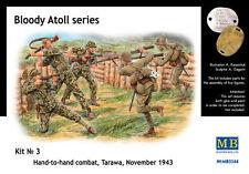 """Master Box 3544 """"Bloody Atol"""" Hand-to-hand fight, Tarawa, 1943 1:35"""