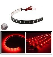 1X Rosso 30 cm 12 LED SMD 3528 Striscia Corsa DRL Auto Casa Luce Waterproof 12V