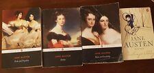 Jane Austen Novels Set books book FAST FREE POST pride and prejudice emma etc