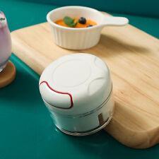 Garlic Chopper Press Food Chopper Processor Quick Hand Pull Mini Meat Grinder