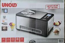 UNOLD 48893 Eismaschine Limited Edition - 1,5 Liter - mit Kompressor