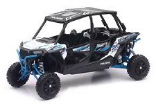 NewRay POLARIS RZR XP Turbo Eps Quad Silla de paseo azul azul,1:18 Artículo