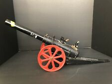 """Large Heavy Vintage Cast Iron & Metal 25"""" Toy Cannon"""