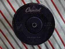 """NAT KING COLE """"Nothing in the world / Come closer to me"""" 7""""45rpm Vinyl Record"""