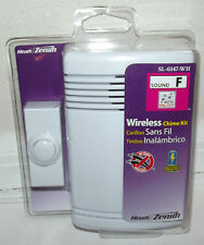 Heath Zenith Wireless Door Chime Kit - Brand New Model SL-6147-WH