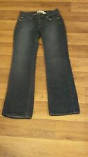 '03 *Old Navy* Wmn's 2 Low Waist Cotton Distressed 5 Pkt Boot Jeans 27x29½