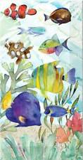 Punch Studio Fish Sea 16 Triple Ply Dinner Buffet Napkins Guest Towels