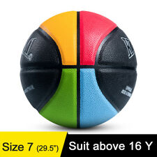Kuangmi Indoor/Outdoor Basketball Size 7 29.5 Olympic Colors for Youth Men Women