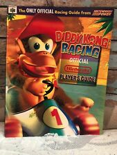 Diddy Kong Racing Official Nintendo 64 Player's Strategy Guide Book For N64 Vtg