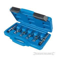 Silverline 6pc 3/8'' Glow Plug Spark Plug Removal Tool Remover Joint Socket Set