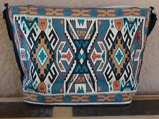 Canvas Stencil Purse 172C-HIPC Southwest Southwestern Design Sturdy Cotton Bag