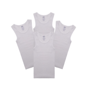 1-Pack//2-Pack//3-Pack Amberetech Soft Cotton Tank Top Tank Undershirts for 2-9 Years Old Little Boys