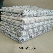 5PCS Fabric Bundle Stash Cotton Patchwork Sewing Quilting Tissue Cloth DIY New,