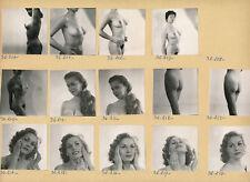 Femmes c. 1960 - 14 Photos Portraits Nus Studio - Pl 247