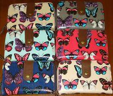 Mariposa de impresión purse/wallet en el Anna Smith Diseño