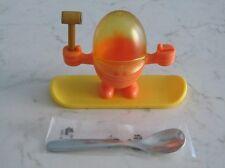 Porta uovo Mc Egg WF Willy Mia Fred martello cucchiaio acciaio manichino + casco