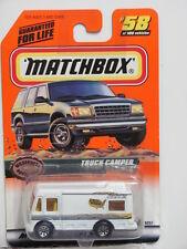 MATCHBOX 1999 #58 OF 100 TRUCK CAMPER - WILDNESS ADVENTURE