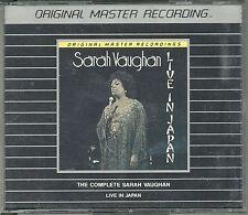 Vaughan, Sarah Live in Japan MFSL Silver Doppel CD MFCD 2-844
