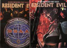 Resident Evil 1 NmMt Rare Bardeaux Variant Regular Comic Set Video Game Theme