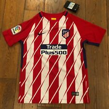 Maillot NIKE ATLETICO MADRID STADIUM Home Junior Rouge & Blanc M 10/12 Ans Neuf