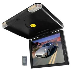 "Pyle 14"" TFT Flipdown Car Ceiling TV Video Monitor w/ Wireless Remote (2 Pack)"