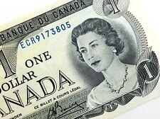 1973 Canada One Dollar ECR Prefix Uncirculated Elizabeth Canadian Banknote K963