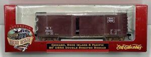 Ertl 3321 HO Scale Rock Island 50' USRA Double Sheathed Boxcar #15592 LN/Box