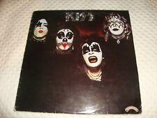 KISS Kiss Debut 1977 original UK Lp Red Vinyl