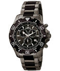 Invicta 6412 Men's Specialty Chronograph Two-Tone IP Steel Black Dial