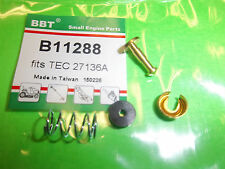 NEW BBT BOWL DRAIN KIT FITS TECUMSEH TILLERS SNOW BLOWERS 27136A 11288 BTT